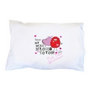 monster heart pillowcase
