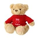 love heart jumper teddy