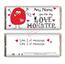love monster chocolate bar