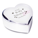 be my valentine heart trinket box