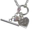 hearts t-bar bracelet