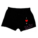 I love you heart design novelty boxer shorts