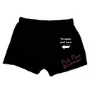 novelty pull here to open saucy fun design boxer shorts