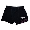 personalised property of ..... black boxer shorts