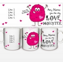 love monster mug