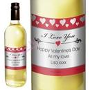 hearts I love you white wine