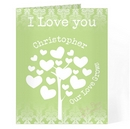 love grows card green