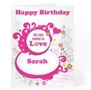 Groovy Doodle Love Card