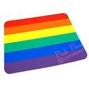 rainbow pride mouse mat