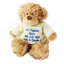 Blue Tatty Teddy Message Bear