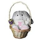 Easter Bunny Basket Pink