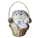 Easter Bunny Basket Blue