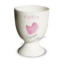Pink Chick Egg Cup