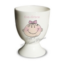Baby Girl Egg Cup
