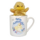 Easter Chick Mug With Chick