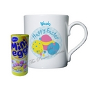 Easter Egg Mug With Chocolates