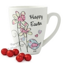 Easter Daffodil && Chick Latte Mug