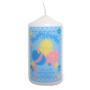 Happy Easter Eggs Candle