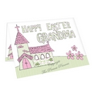 Whimsical Church Easter Card
