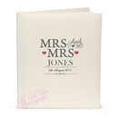 mrs & mrs civil ceremony traditional album