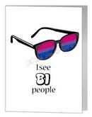 I see bi people card