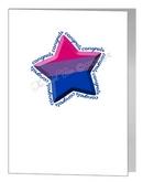 bisexual congratulations star card