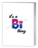 it's a bi thing card