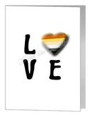 bear LOVE card