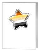 bear congratulations star card