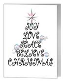 transgender joy love christmas wording tree card