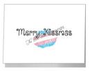 transgender merry kissmas card