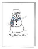 transgender snowman card