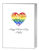 valentine card - xox kisses & hugs