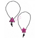 hen party whistle necklace