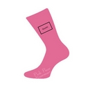 groom socks - hot pink