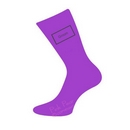 groom socks - purple