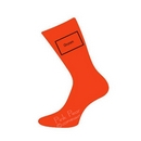 groom socks - orange
