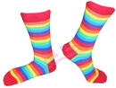 rainbow socks - female