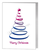 swirl christmas tree - bisexual xmas