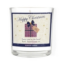 Personalised Luxury Present Scented Jar Candle