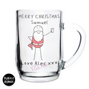 Personalised Purple Ronnie Santa Tankard