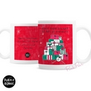 Personalised Purple Ronnie Christmas Female Gifts Mug