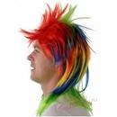 punky rainbow wig