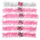 hen night garters (6 pack)