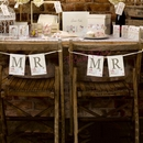 Shabby Chic Chair Bunting - Mr & Mr