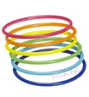 neon rainbow bangle set