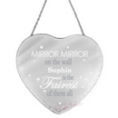personalised mirror mirror... heart mirror