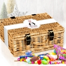 personalised loving loving penguins sweet hamper