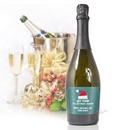 just what i wanted for christmas personalised prosecco