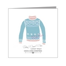 snowflake woolly sweater - transgender xmas